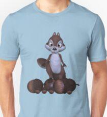 Nutty .. cute squirral Unisex T-Shirt