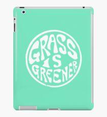 Grass is greener iPad Case/Skin
