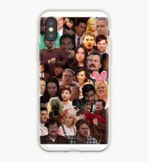 Parks and Recreation Collage iPhone Case