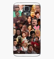 Parks and Recreation Collage Case/Skin for Samsung Galaxy