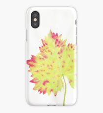 Watercolor Leaf iPhone Case/Skin