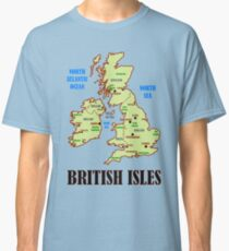 British Isles Map Classic T-Shirt