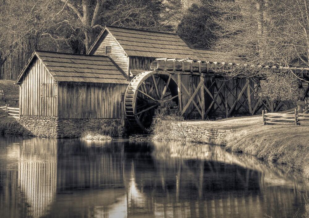 Mabry Mill, VA by Harry H Hicklin
