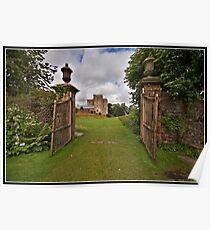 Sizergh Castle Poster
