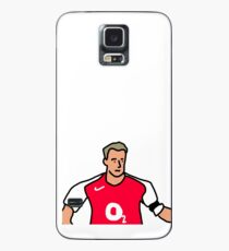 Bennis Dergkamp- Arsenal FC- Parody- Illustration  Case/Skin for Samsung Galaxy