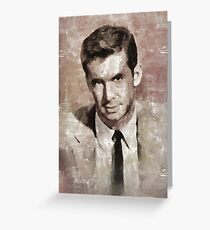 Anthony Perkins, Hollywood Legend Greeting Card