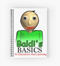 Baldi's Basics in education and learning Spiral Notebook