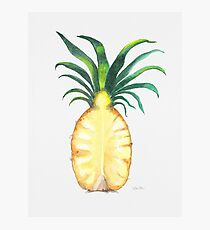 Pineapple Crown Photographic Print