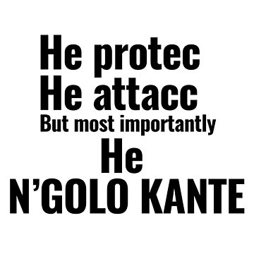 Ngolo Kante by Nkioi