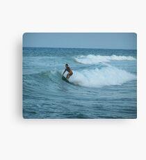 Surfing Espana Canvas Print