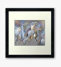 Golden arches Framed Print