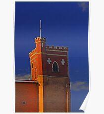 Lathlain Red Castle - Western Australia  Poster