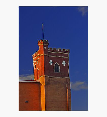Lathlain Red Castle - Western Australia  Photographic Print