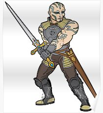 Flynn - Goliath Paladin Poster