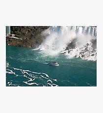 Niagara water foam Photographic Print