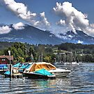 Lake shores of Lucerne by Rosy Kueng Photography