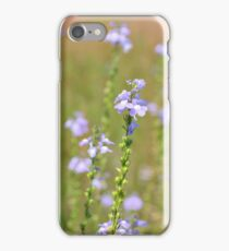 Blue Toadflax iPhone Case/Skin