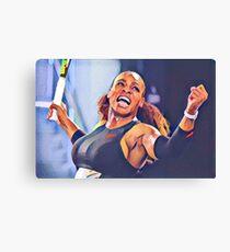 Serena Williams Canvas Print