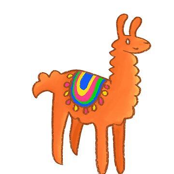 Happy Llama by jsivart