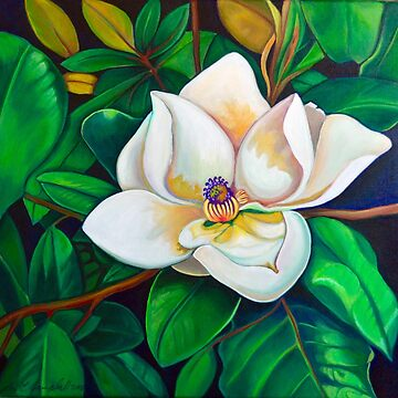 Sweet Magnolia by LottiDa