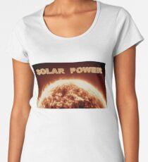 Solar Power Women's Premium T-Shirt