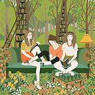 Book club by Yuliya Art