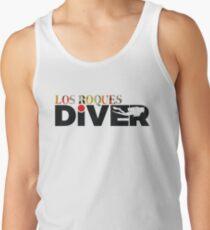 Camiseta de tirantes LOS ROQUES Diver