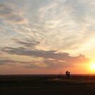 Prairie Sunset by Ellinor Advincula