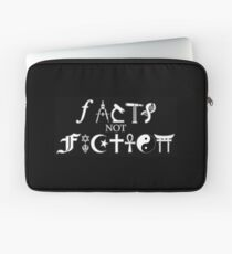 Facts not Fiction  Laptop Sleeve