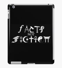 Facts not Fiction  iPad Case/Skin