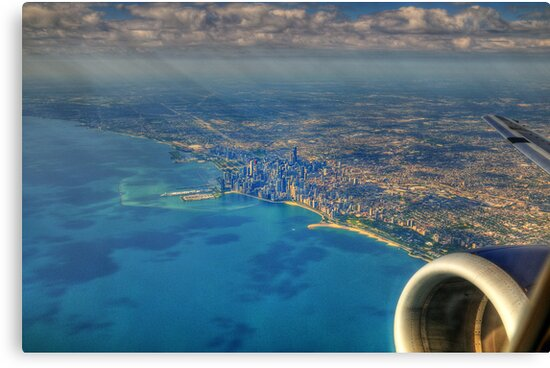 Above Chicago by Ted Lansing