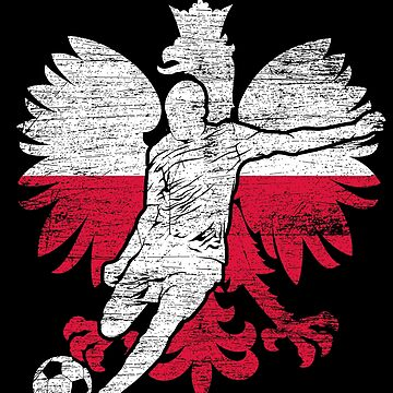 Poland football eagle by GeschenkIdee