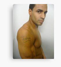 Josh Tattoo Profile Impression métallique