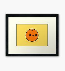 Cute orange Framed Print