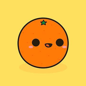 Cute orange by peppermintpopuk