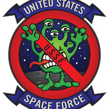 United States Space Force U.S.S.F.  by hobrath