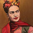 Frida Portrait by William Wright by William Wright