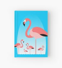 Flamingos Hardcover Journal