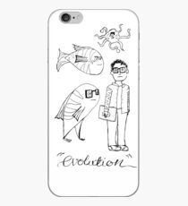 The Evolution of Man iPhone Case