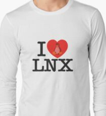 I Love Linux Long Sleeve T-Shirt