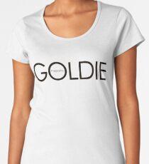 GOLDIE magazine Premium Scoop T-Shirt