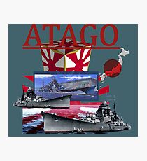 Atago cruiser Photographic Print