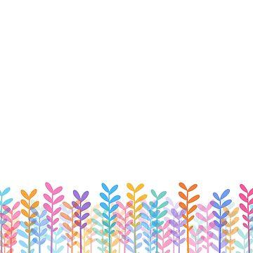 Plants - White by RikDrawsThings