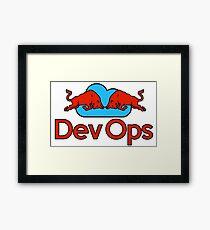 DevOps Wings Framed Print