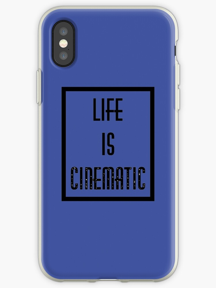 'Owl City - Life Is Cinematic' iPhone Case by schlaacka