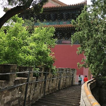 Asia, China, Beijing, Temple, Stairs, Photography, BebiCervin by BebiCervin