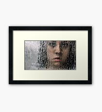 So Pretty Behind the Glass Framed Print