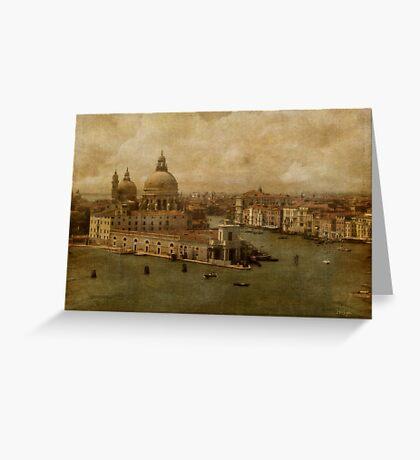 Vintage Venice Greeting Card
