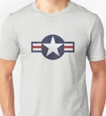 U.S. Military Aviation Star National Roundel Insignia Unisex T-Shirt