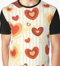 Love heart pattern Graphic T-Shirt